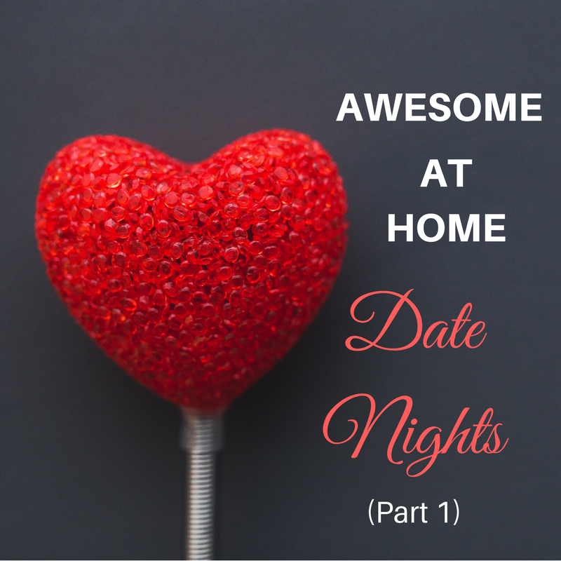 Set the scene for a great date night at home.