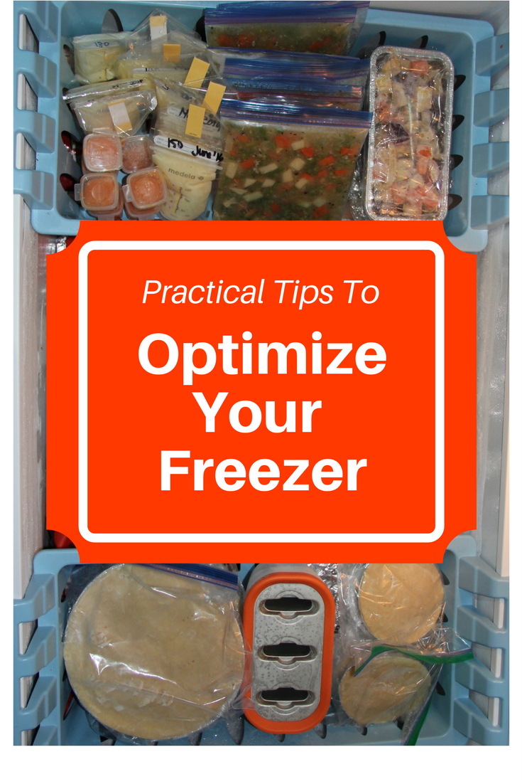 Optimize your freezer - Learn about buying the right freezer, energy efficiency, storing food, and organization